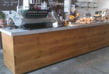 Betonnen counter @ Hopper Coffeebar te Rotterdam